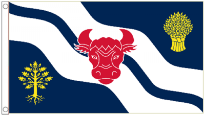 Oxfordshire County 5'x3' (150cm x 90cm) Flag